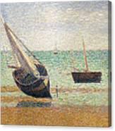 Low Tide At Grandcamp Canvas Print