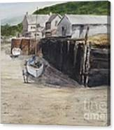 Low Tide At High Noon Canvas Print
