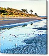 Low Tide At Jekyll Island Canvas Print