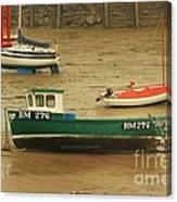 Low Tide Blues Canvas Print