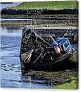 Low Tide Donegal Ireland Canvas Print
