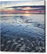 Low Tide East Beach Canvas Print