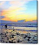 Low Tide Glow Canvas Print