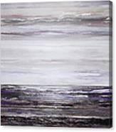 Low Tide Hauxley Haven Rhythms And Textures Purple Canvas Print