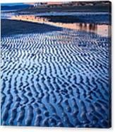 Low Tide In Seattle Canvas Print