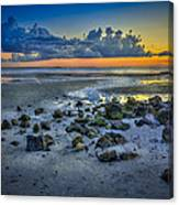 Low Tide On The Bay Canvas Print