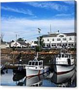 Low Tide Plymouth Ma Canvas Print