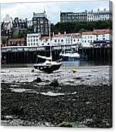 Low Tide Whitby Canvas Print