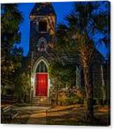 Lowcountry Church Canvas Print