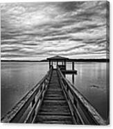 Lowcountry Long Dock Canvas Print
