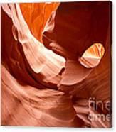 Lower Antelope Canyon Detail Canvas Print