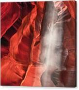 Upper Antelope Canyon Litebeam Canvas Print