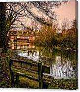 Lower Denford Hungerford Canvas Print