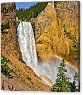 Lower Falls From Uncle Toms Trail Canvas Print