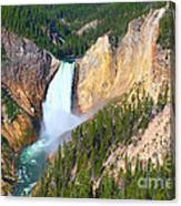 Lower Falls Yellowstone 2 Canvas Print