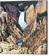 Lower Falls Yellowstone Canvas Print
