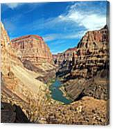Lower Grand Canyon Canvas Print