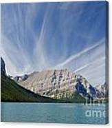 Lower Kananaskis Lake Canvas Print