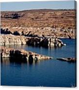 Lower Level Lake Powell Canvas Print