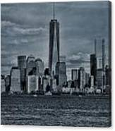Lower Manhattan And The Freedom Tower Canvas Print