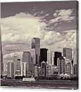 Lower Manhattan Skyline 2 Canvas Print