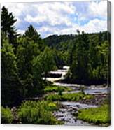 Lower Tahquamenon Falls Ll Canvas Print