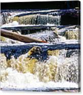 Lower Tequamenon Falls Canvas Print