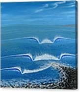 Lower Trestles Canvas Print