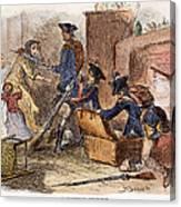 Loyalist Home, 18th C Canvas Print
