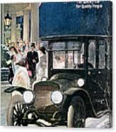 Lozier Cars - Vintage Advertisement Canvas Print