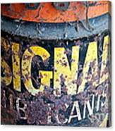 Lubricant Picking Canvas Print