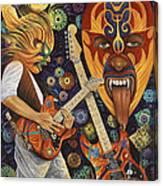 Lucha Rock Canvas Print
