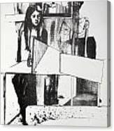 Lucia En Cor Canvas Print