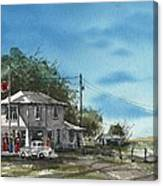 Lucille's On Route 66 Canvas Print