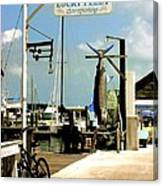 Lucky Fleet Key West  Canvas Print
