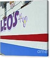 Lucky Leo's Canvas Print