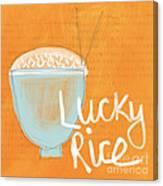 Lucky Rice Canvas Print