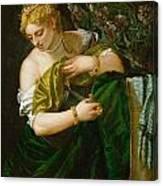 Lucretia Canvas Print