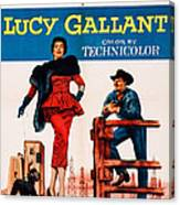 Lucy Gallant, Us Poster Art, From Left Canvas Print