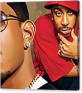 Ludacris Artwork Canvas Print