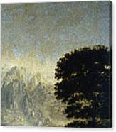 Ludlow Castle, Shropshire Canvas Print