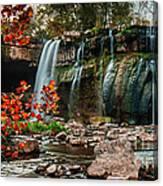 Ludlowville Falls Canvas Print