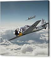 Luftwaffe - Fw190 Canvas Print