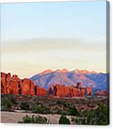 A Sandstone Landscape Canvas Print