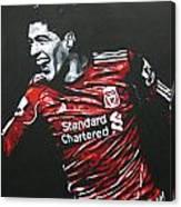 Luis Suarez - Liverpool Fc 2 Canvas Print