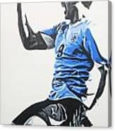 Luis Suarez - Uraguay Canvas Print