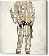 Luke Skywalker - Mark Hamill  Canvas Print