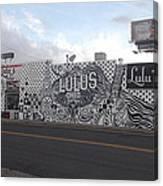 Lulu's Street  Canvas Print