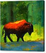 Lumbering Canvas Print