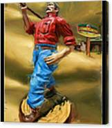 Lumberjacks Canvas Print